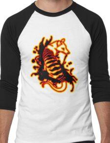 Flame Thylacine Men's Baseball ¾ T-Shirt
