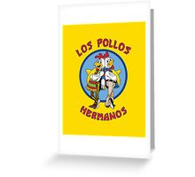 Breaking Bad - Los Pollos Hermanos Greeting Card