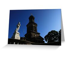 Shrewsbury Boer War Memorial Greeting Card
