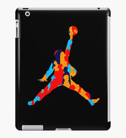 slam dunk bernie iPad Case/Skin