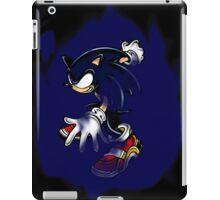 Dark Sonic (Black Background) iPad Case/Skin
