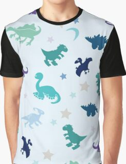 Dinosaur among the stars Graphic T-Shirt