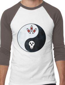soul eater- yin yang Men's Baseball ¾ T-Shirt