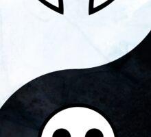 soul eater- yin yang Sticker