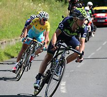 Tour de France 2014 - Valverde & Nibali by MelTho