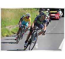 Tour de France 2014 - Valverde & Nibali Poster