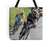 Tour de France 2014 - Valverde & Nibali Tote Bag