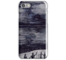The Firstborn at Lake Cuiviénen iPhone Case/Skin