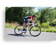 Frank Schleck - Tour de France 2014 Canvas Print