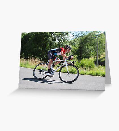 Frank Schleck - Tour de France 2014 Greeting Card