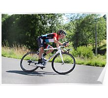 Frank Schleck - Tour de France 2014 Poster