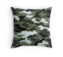 In The Army Look Throw Pillow