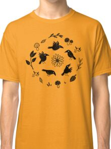 Crows and Foliage Classic T-Shirt
