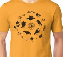 Crows and Foliage Unisex T-Shirt