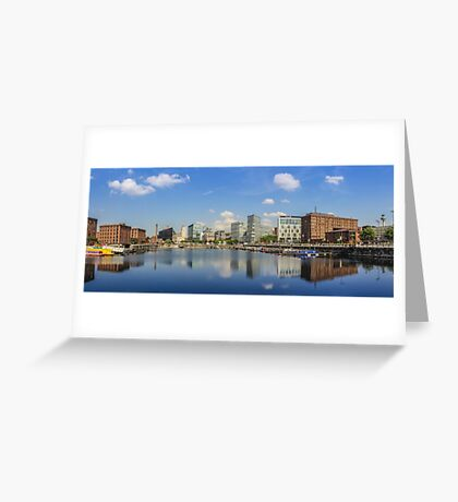 Salthouse Dock - Liverpool -  In The Sun Greeting Card