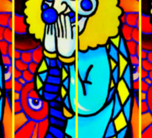 The Laughing Clown Sticker