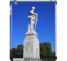 Shrewsbury Boer War Memorial iPad Case/Skin
