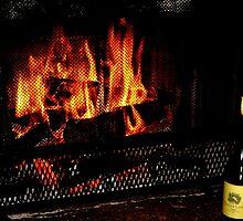 Cozy Winter Fire by photroen