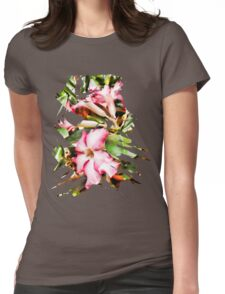 Abstract Flower 4 Womens Fitted T-Shirt
