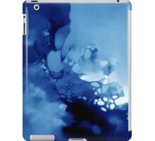 Blue Abstract iPad Case/Skin