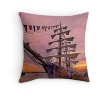A.R.C. Gloria , Columbia  Throw Pillow