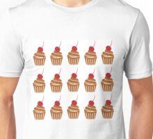 Cake with cherries Unisex T-Shirt