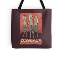 Music festivals zombies Tote Bag