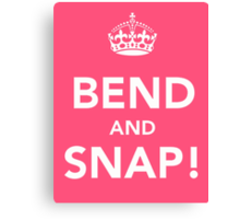 Legally Blonde - Bend and Snap Canvas Print