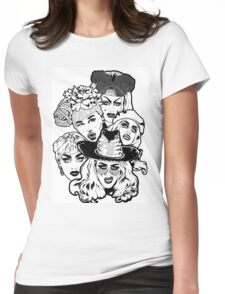 Queens (6) Womens Fitted T-Shirt