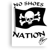 NO SHOES NATION 2016 Canvas Print