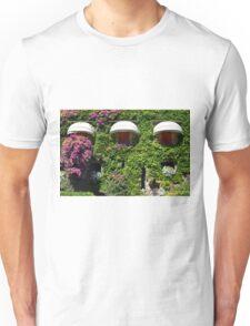 Building facade covered in vegetation Unisex T-Shirt