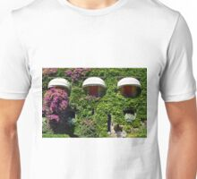 Building facade covered in vegetation Unisex T-Shirt