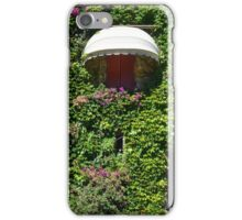 Building facade covered in vegetation iPhone Case/Skin