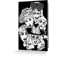 Queens (7) Greeting Card