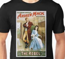 Performing Arts Posters The singing comedian Andrew Mack in his new play The rebel a drama of the Irish rebellion by James B Fagen 1334 Unisex T-Shirt