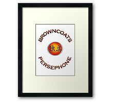 Browncoats Persephone Framed Print