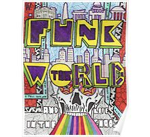 """Funk the World"" Poster"
