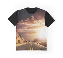 sunset of the valley of fire Graphic T-Shirt