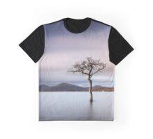 Sunlit Tree Graphic T-Shirt