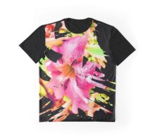 Abstract Flower 5 Graphic T-Shirt