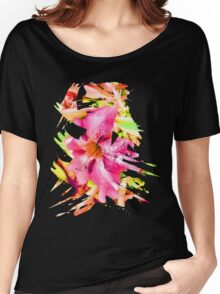Abstract Flower 5 Women's Relaxed Fit T-Shirt