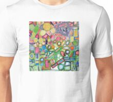 Cheerful Colorful Collection Unisex T-Shirt
