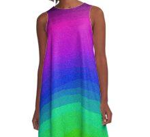 Sheets of Colour A-Line Dress
