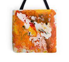 Lions Gate Flow Art  Tote Bag