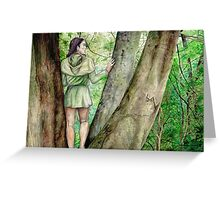 Green-elf of Ossiriand Greeting Card