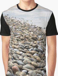 pebbled beach beside the links Graphic T-Shirt