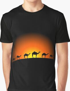 Camels Graphic T-Shirt