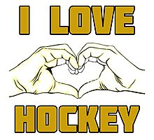 Hockey design Photographic Print