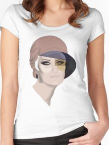 Marie Women's Fitted Scoop T-Shirt