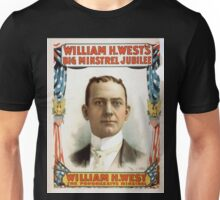 Performing Arts Posters William H Wests Big Minstrel Jubilee 1773 Unisex T-Shirt